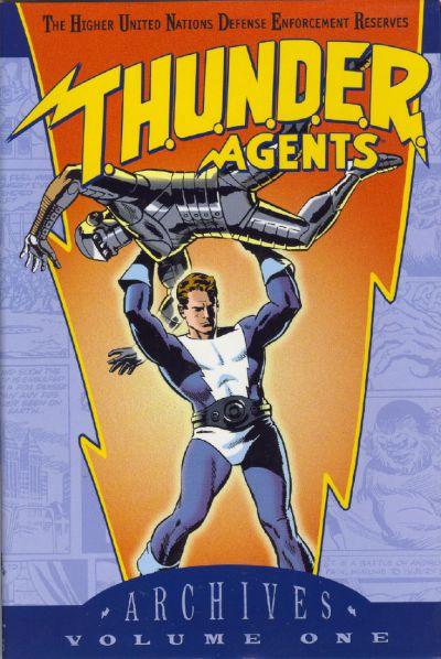 T.H.U.N.D.E.R. Agents Archives Vol 1