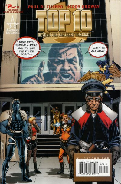 Top 10: Beyond the Farthest Precinct Vol 1 2