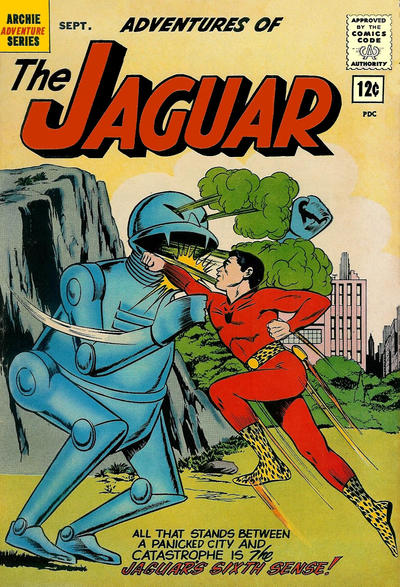 Adventures of the Jaguar Vol 1 8