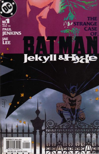 Batman: Jekyll and Hyde Vol 1 1