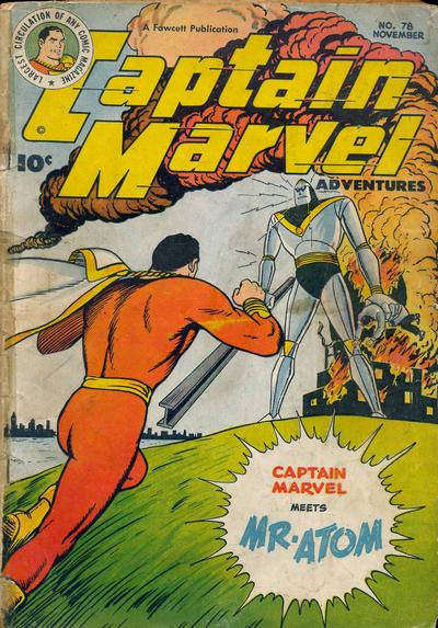 Captain Marvel Adventures Vol 1 78