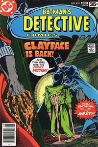 Detective Comics Vol 1 478
