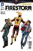 Fury of Firestorm The Nuclear Men Vol 1 20
