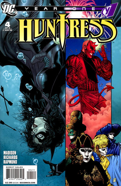 Huntress: Year One Vol 1 4