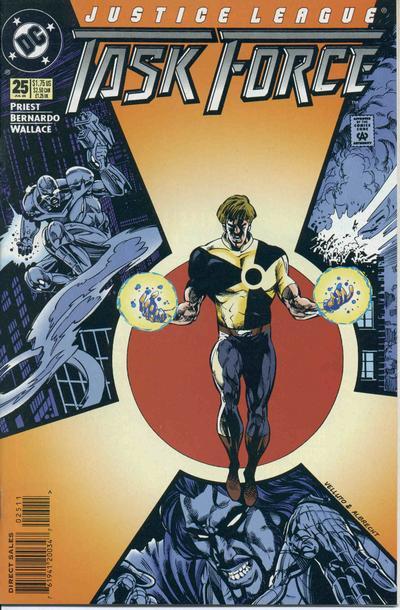 Justice League Task Force Vol 1 25