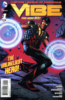 Justice League of America's Vibe Vol 1 1