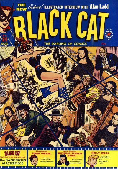 Black Cat Comics Vol 1 24