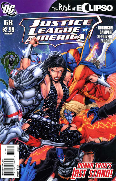 Justice League of America Vol 2 58
