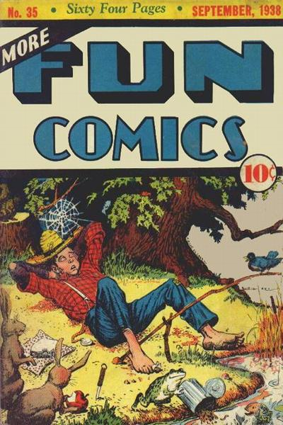 More Fun Comics Vol 1 35