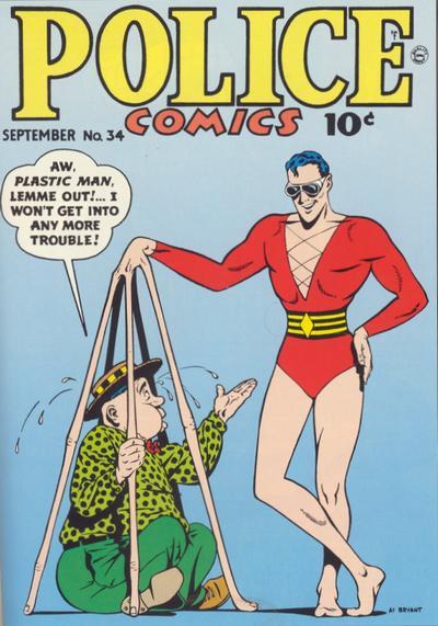 Police Comics Vol 1 34