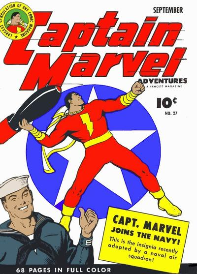 Captain Marvel Adventures Vol 1 27