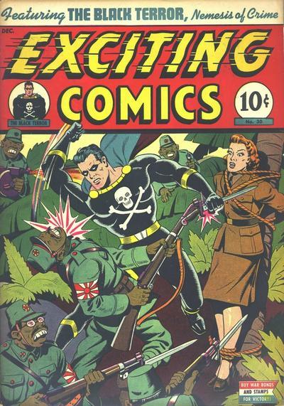 Exciting Comics Vol 1 30