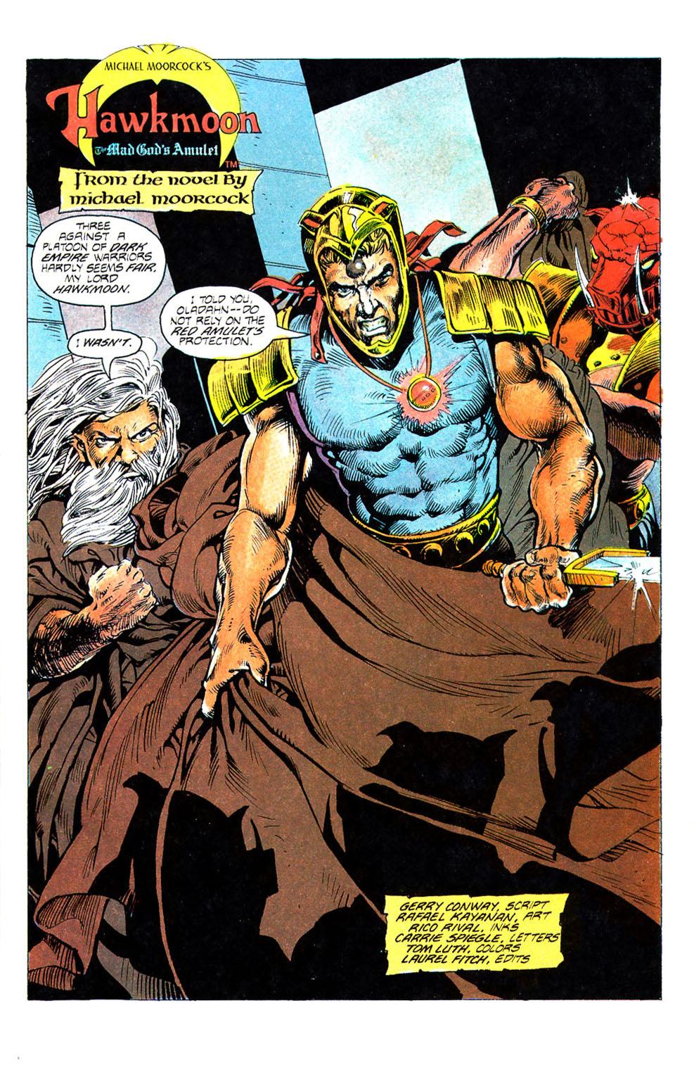 Hawkmoon Mad God's Amulet Vol 1 4