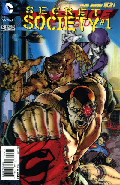 Justice League Vol 2 23.4: Secret Society
