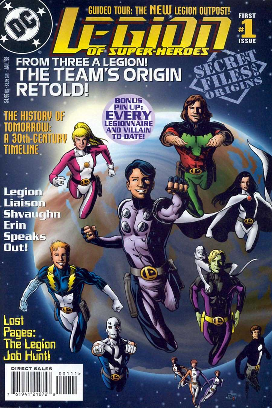 Legion of Super-Heroes Secret Files and Origins Vol 4 1