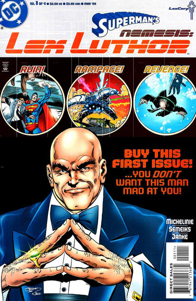 Superman's Nemesis: Lex Luthor Vol 1 1