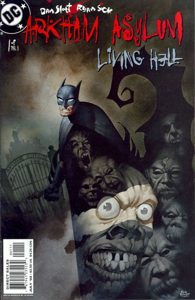 Arkham Asylum: Living Hell Vol 1 1