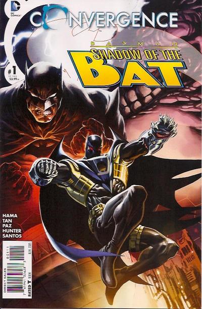 Convergence: Batman: Shadow of the Bat Vol 1 1