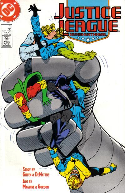 Justice League International Vol 1 11