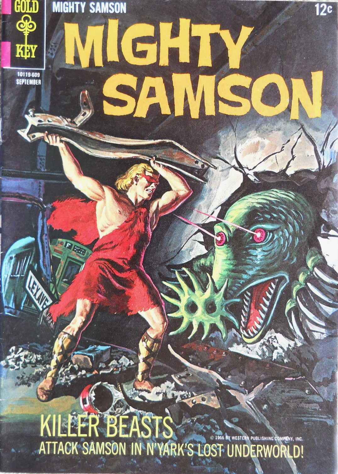 Mighty Samson Vol 1 7