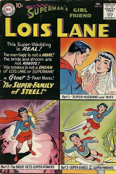 Superman's Girlfriend, Lois Lane Vol 1 15