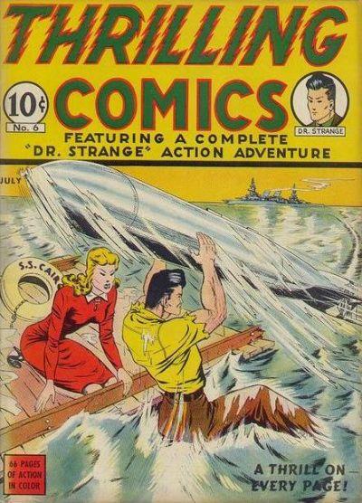 Thrilling Comics Vol 1 6
