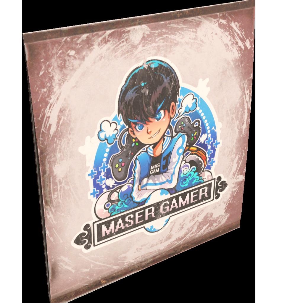 Maser Gamer Sign