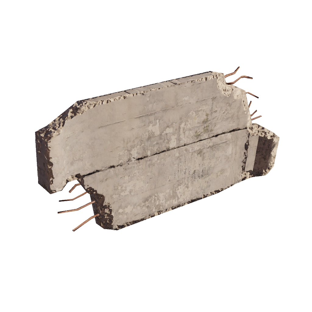 Сломанная стена малая