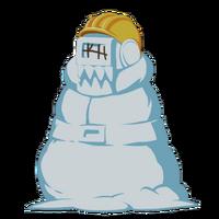 Бей Снеговик большая