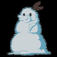 Снеговик Го большая