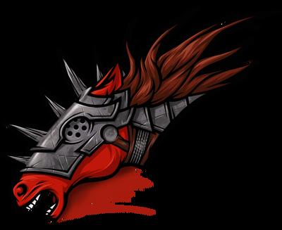 Рыжий конь большая