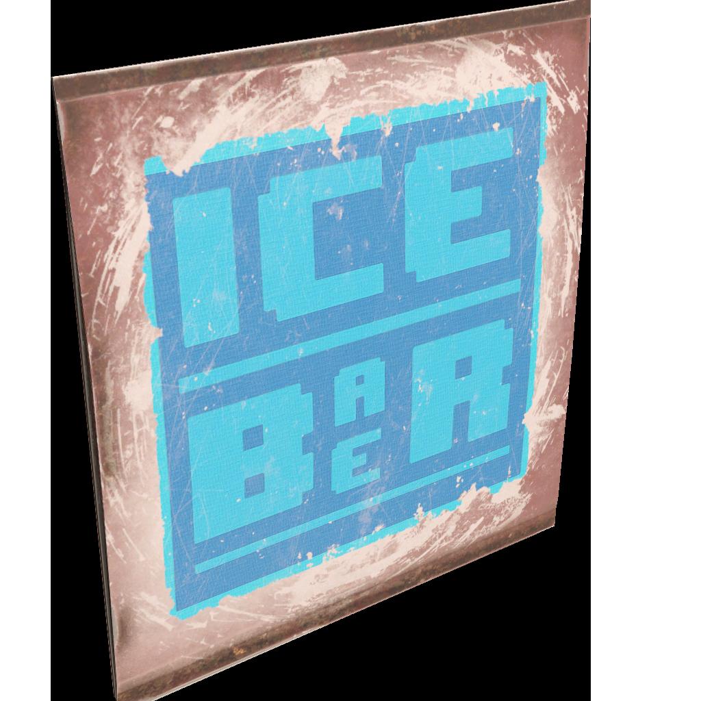 IceBarBer Sign