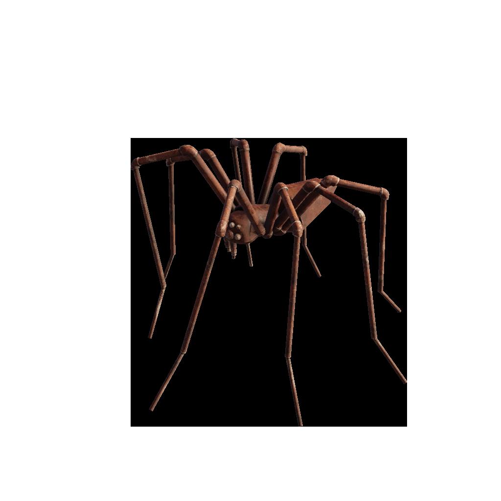 Жуткий паук