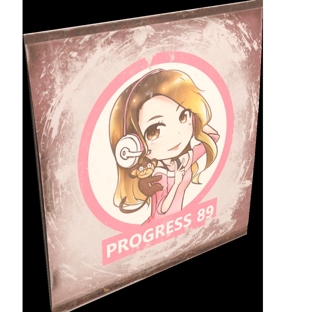 Progress 89 Sign