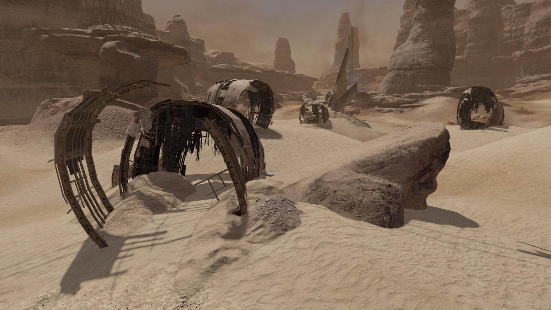 Песчаная долина