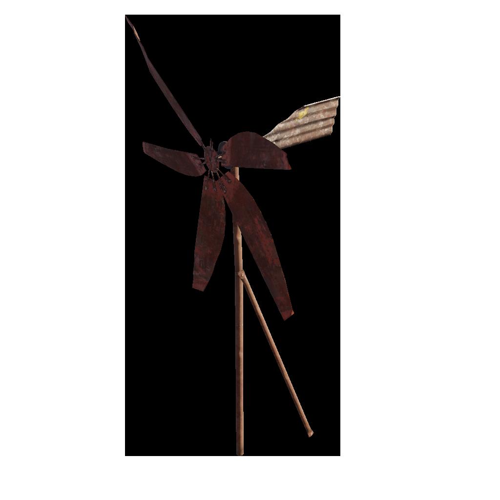 Поврежденный ветряк