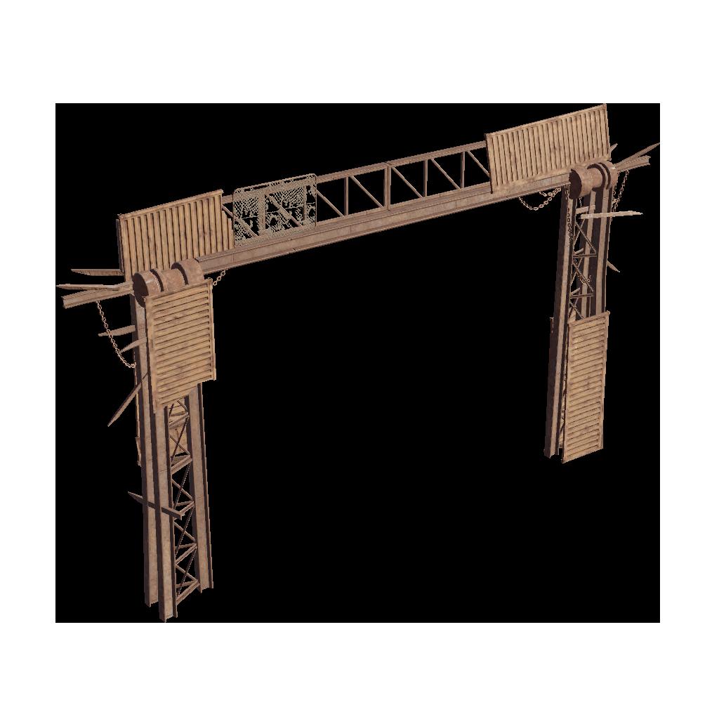 Каркас ворот