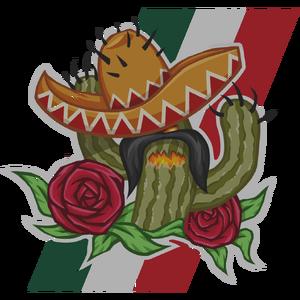 Праздничный кактус большая
