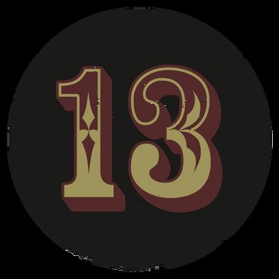 Номер 13 большая