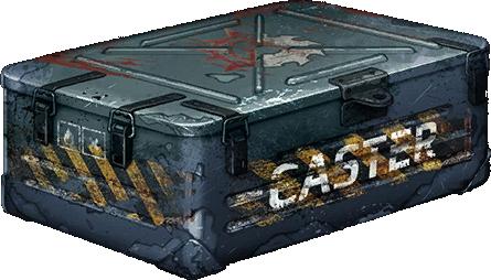 Rare Caster Container