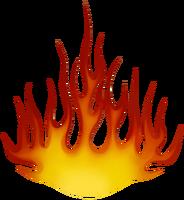 Призрак пламени большая