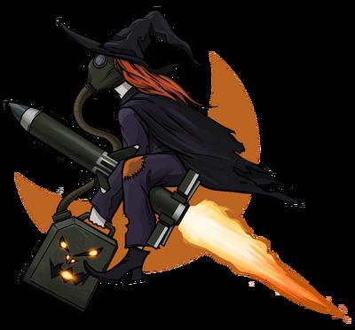 Воздушно-ведьмовские силы большая