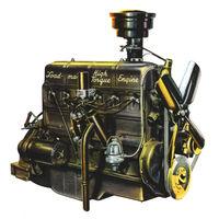 Chevy lnline stovebolt 6 engine