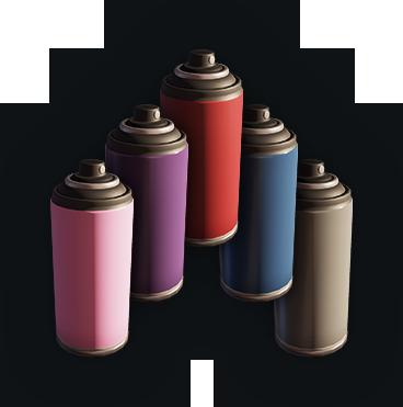 Набор красок №6