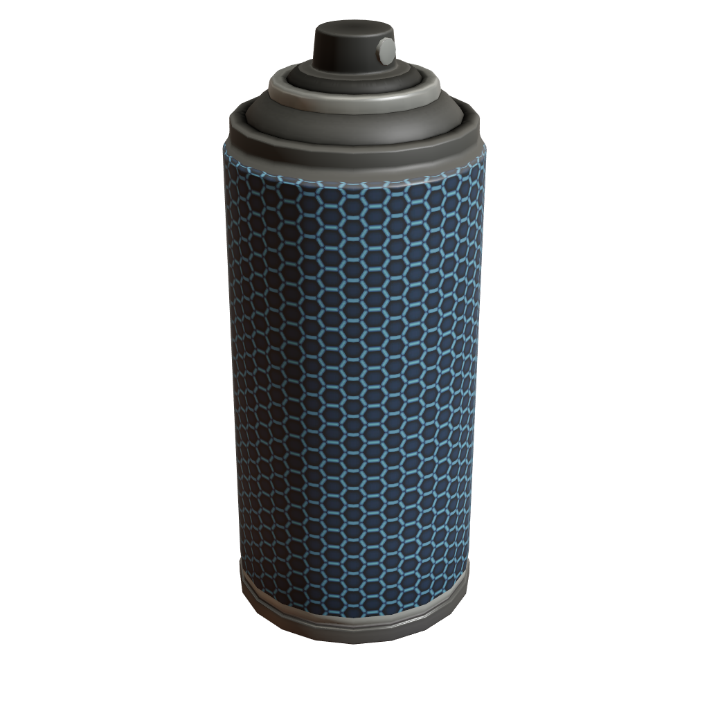 Blue Honeycomb