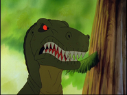 Papa de Gobeur le Tyrannosaure Rex