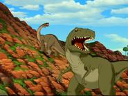 Dana l'Albertosaure
