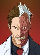 Two-Face Portrait
