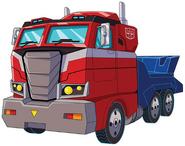 Optimus Prime Cyberverse-Vehicle Mode