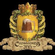 Crossroads Inn Shield Logo